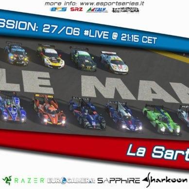rF2: La Sarthe 2.4 h, oggi è il grande giorno!