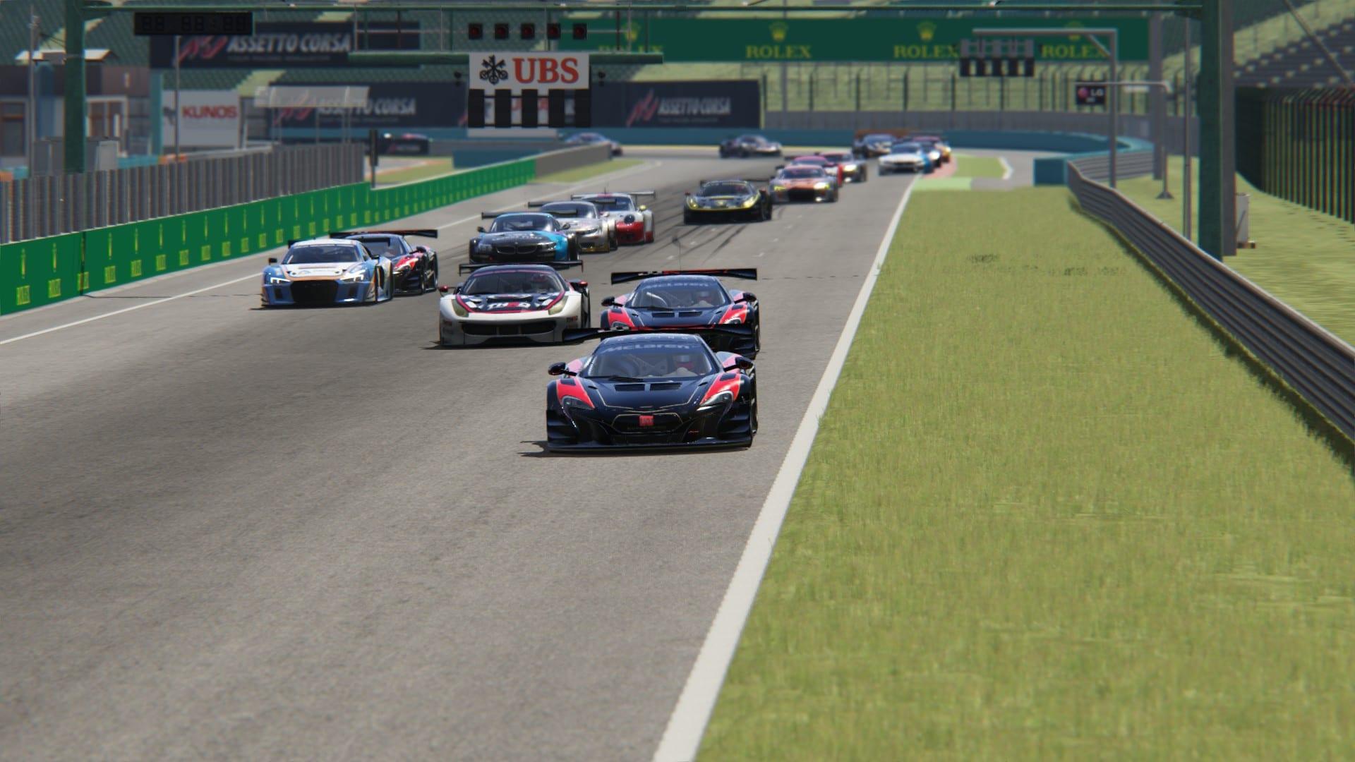 European GT esport Series 2018: ROUND 5 HUNGARORING - E